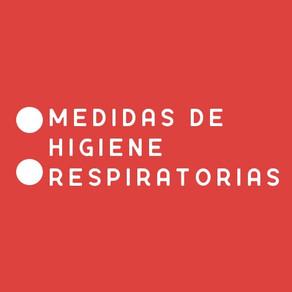 Medidas de Higiene Respiratorias