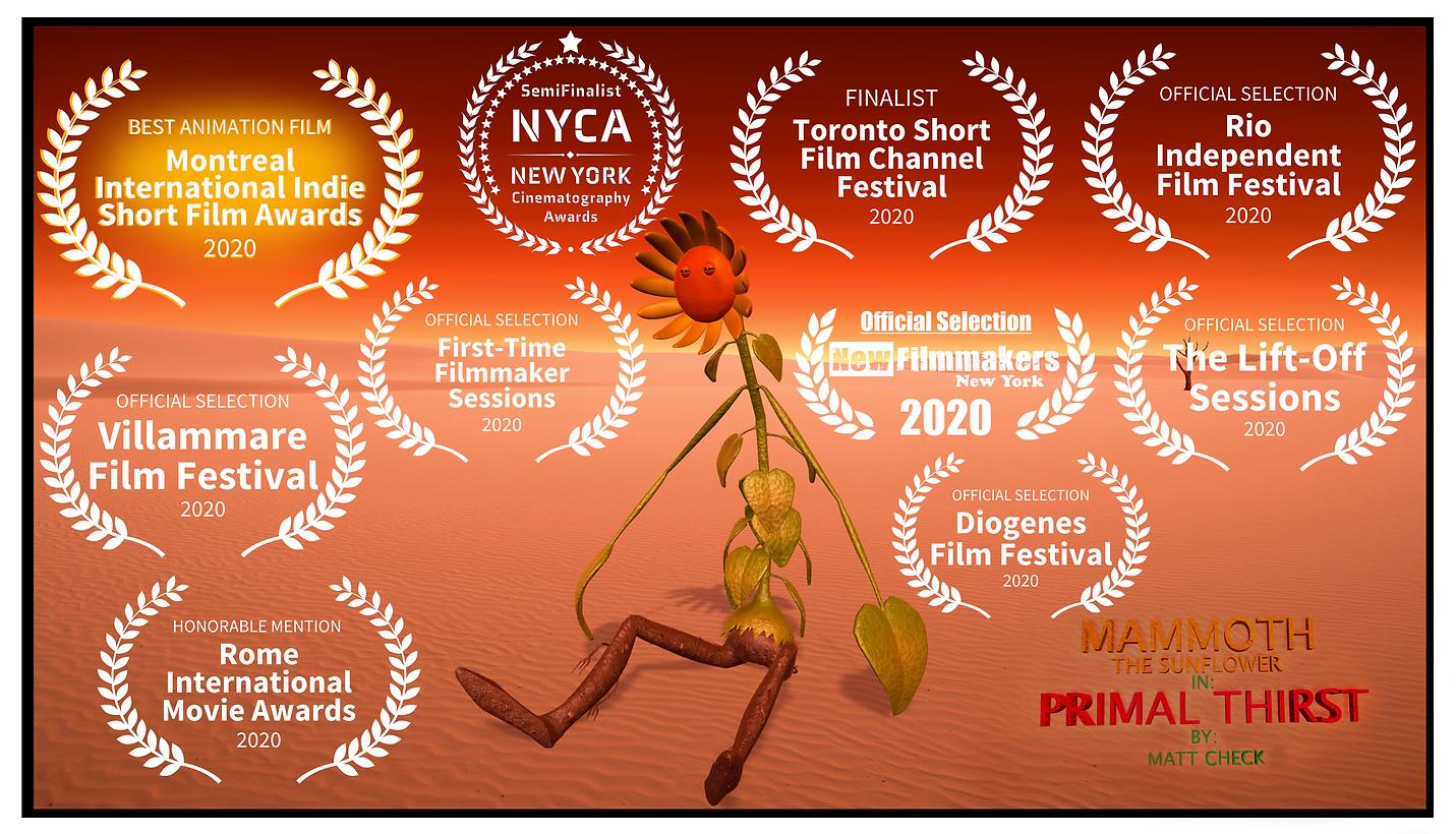 Mammoth Primal Thirst Poster V2 Awards 0