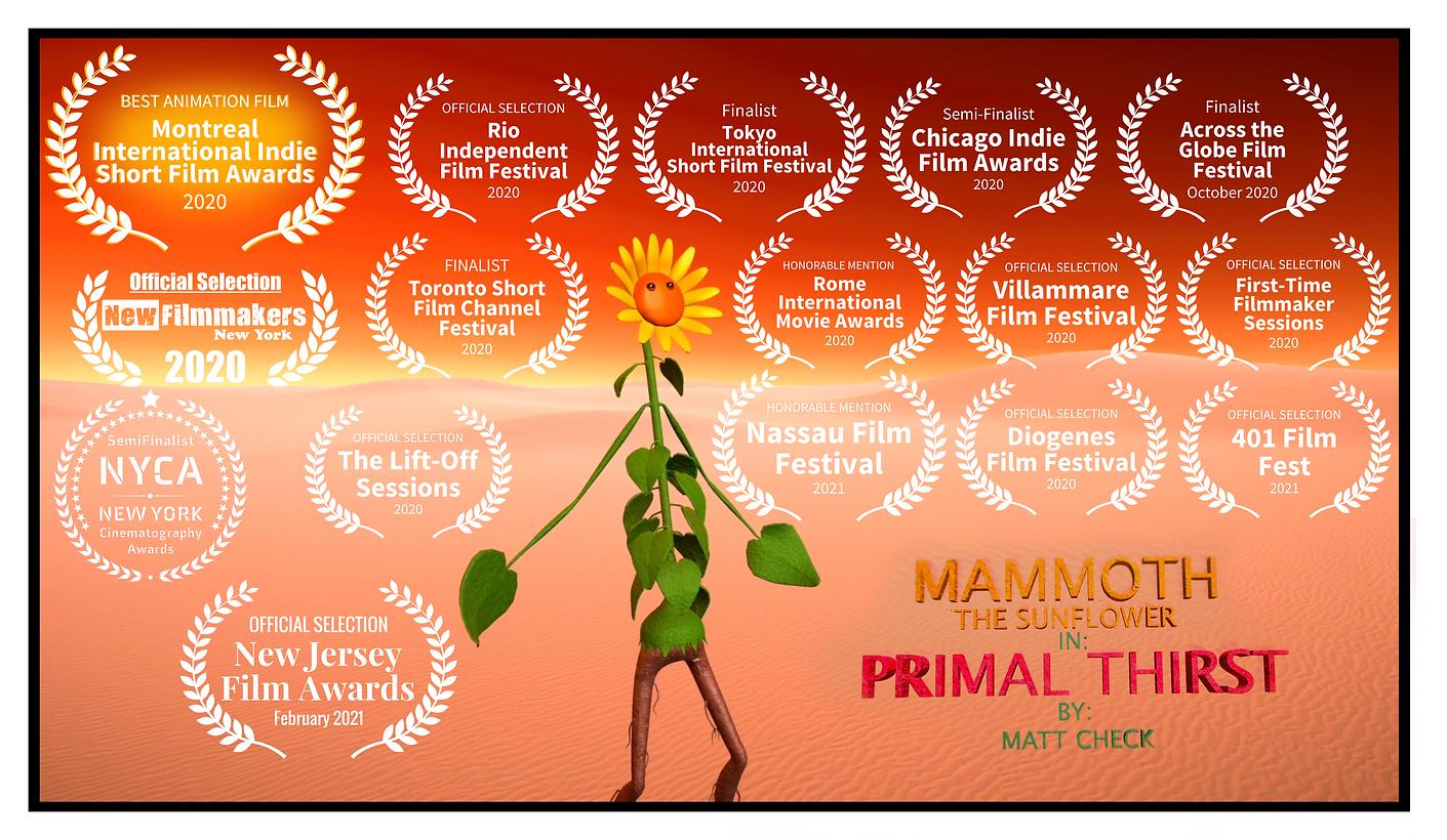 Mammoth Primal Thirst Poster V3 Awards 0