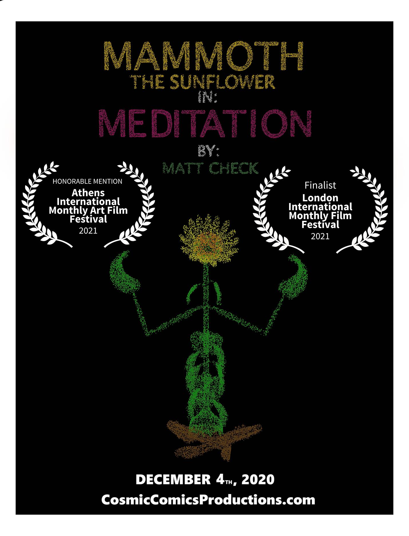 Mammoth Meditation Poster Laurels V1 002