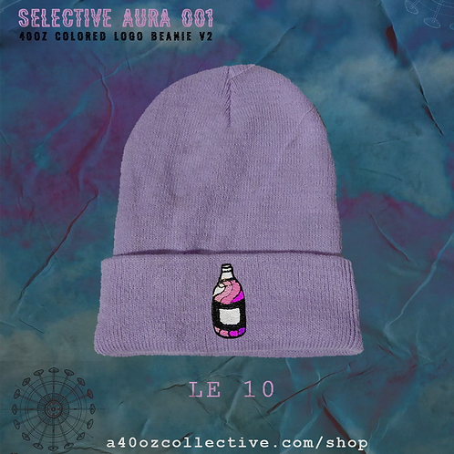 Selective Aura 001: 40oz Colored Logo Pastel Beanies