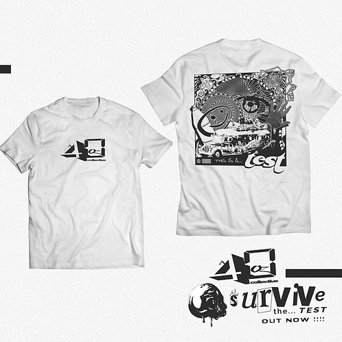 """SURVIVE THE TEST . . . "" [TRAPGHANISTAN x A 40oz COLLECTIVE]"