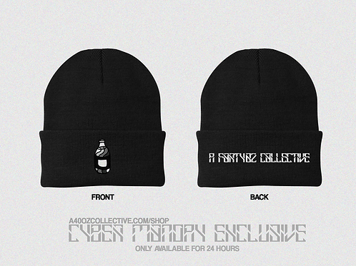 40oz Cyber Monday Exclusive: Limited Greyscale Double Sided Beanie
