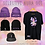 Thumbnail: Selective Aura 001: 40oz Colored Logo V2 Purple Beanie [Double Sided Embroidery]