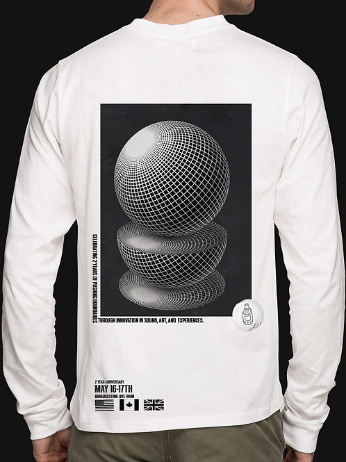 2 Year Anniversary Limited White Long Sleeve - LE20