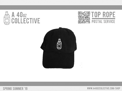 40oz Dad Hat - Black