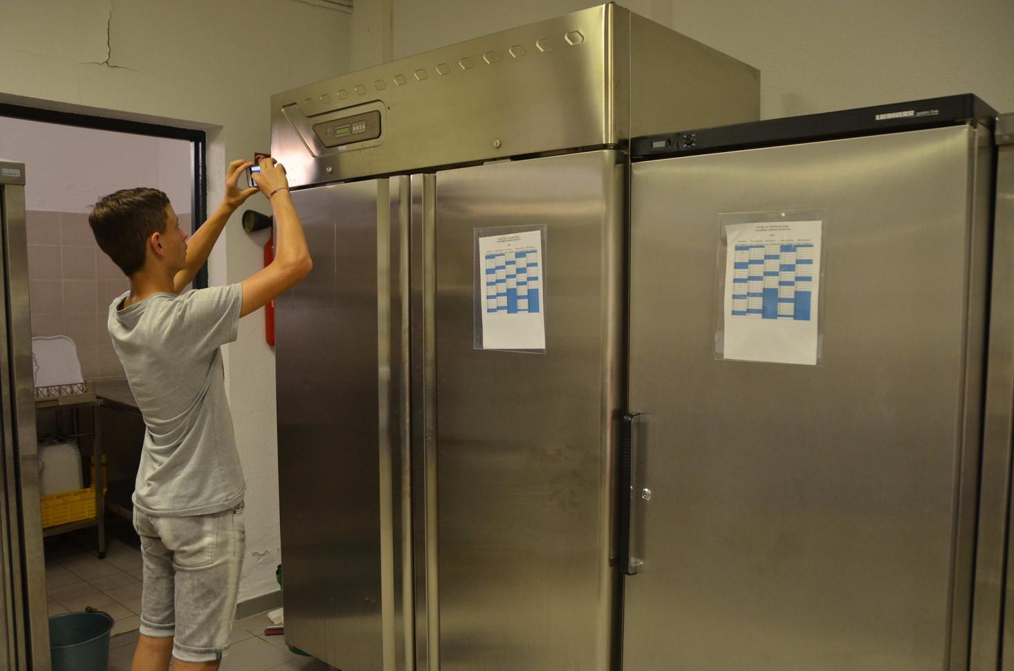 Prise des informations énergétiques des appareils de cuisine...