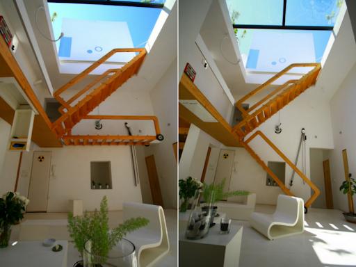 Riad autonome en quartier urbain, archibionic....