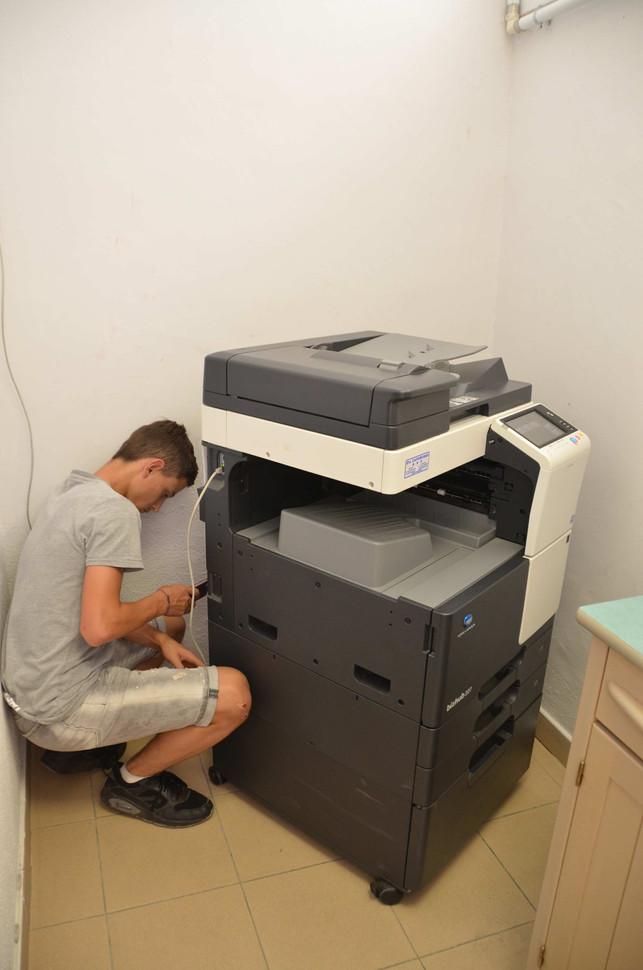 Prise d'information sur tout les appareils électriques de l'école....