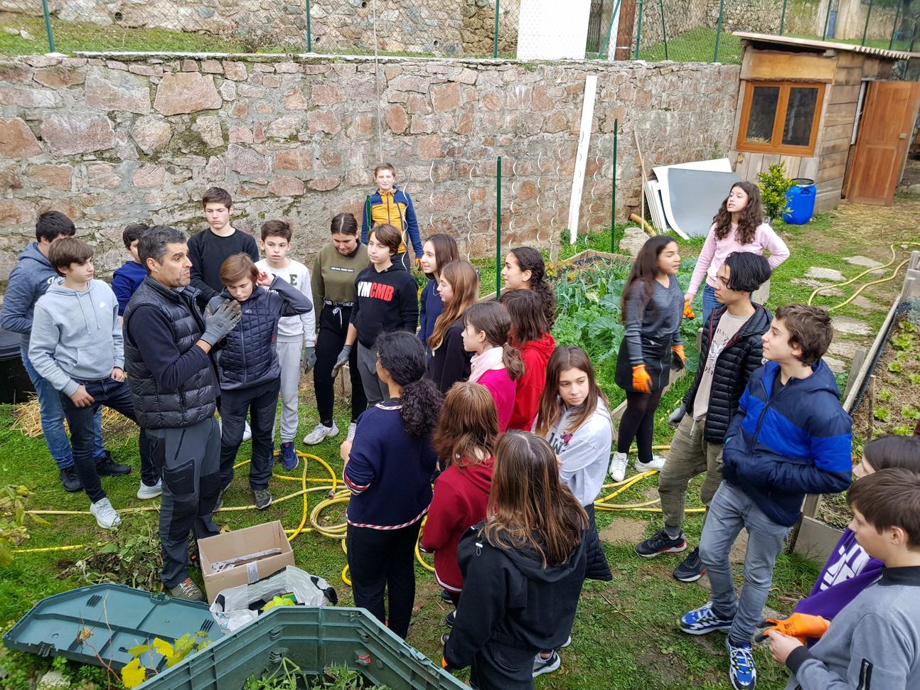Lancement des ateliers jardin...