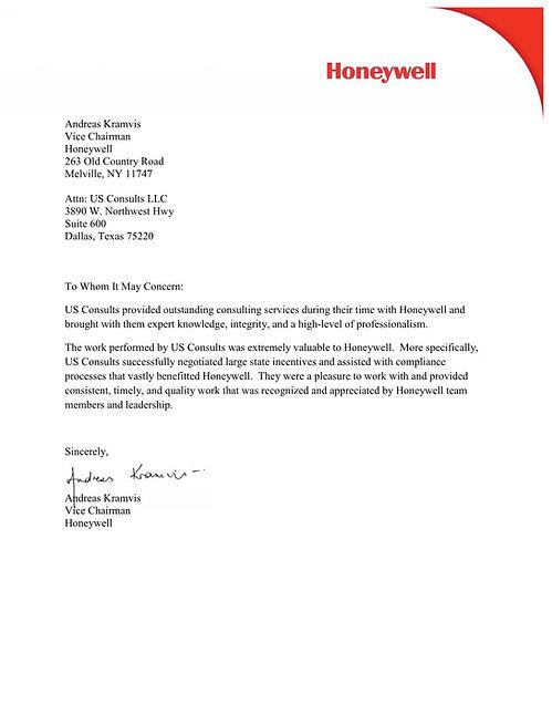 Honeywell Vice Chairman Commendation Letter.jpg
