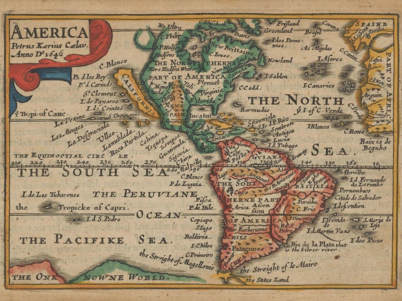 California as an Island Keere 1646