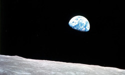 Earthrise from Moon