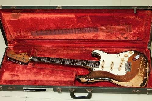 1974 Fender Stratocaster Sunburst USA - SOLD