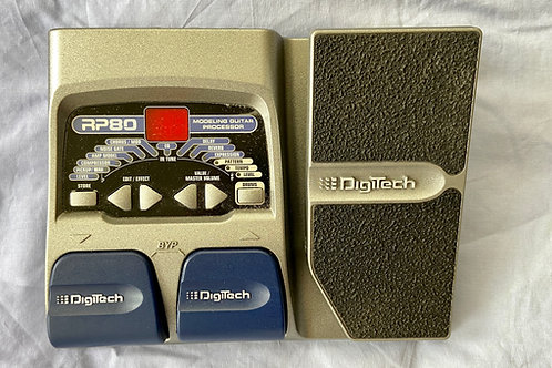 Digitech RP80 Modeling Guitar Processor c/w box (M) - SOLD