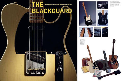 The Blackguard -- Telecaster Style Guitars from 1950- 1954 By Nacho Banos