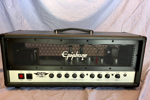 Epiphone So Cal 50W Tube Amplifier Head (G) - SOLD