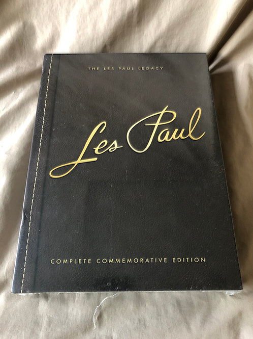 The Les Paul Legacy - Complete Commemorative Edition (2 Hardcover Books) - SOLD