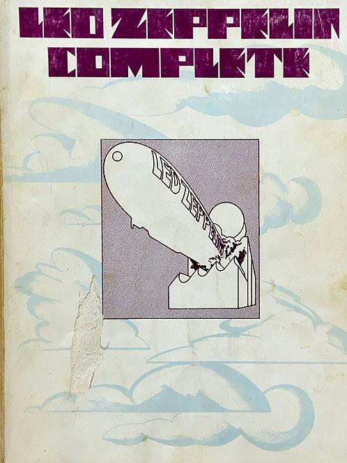 Vintage Led Zeppelin Complete Sheet Music Book 1973 (G)
