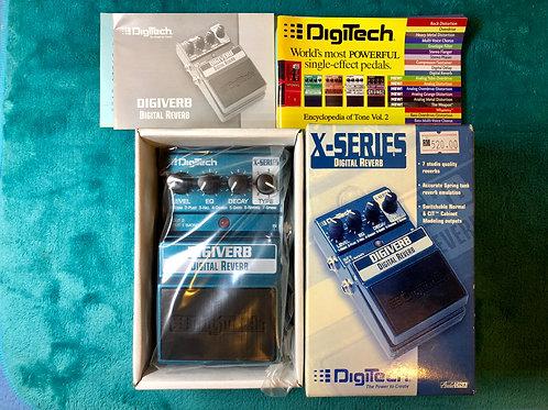 DigiTech Digiverb Digital Reverb X-Series Effect Pedal (New) - SOLD