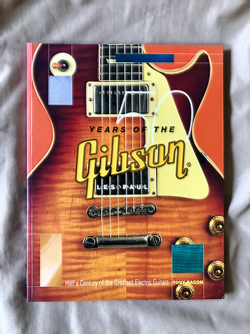 50 Years Of The Gibson Les Paul Book By Tony Bacon (G) - SOLD