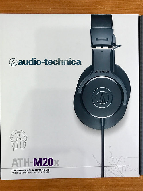 Audio Technica ATH-M20x (New) - SOLD