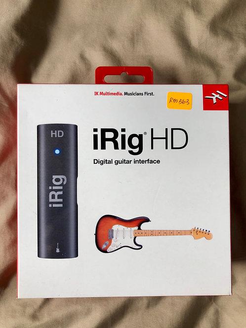 IK 멀티미디어 iRig HD (신제품)-판매