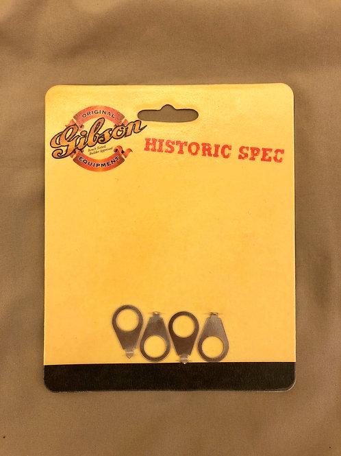 Gibson USA Historic Spec Knob Pointers Nickel-4 pack PRKP-059 (새 제품)