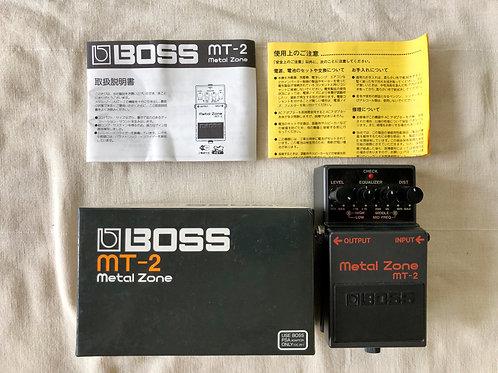 Boss MT-2 Metal Zone MIT (M) - SOLD