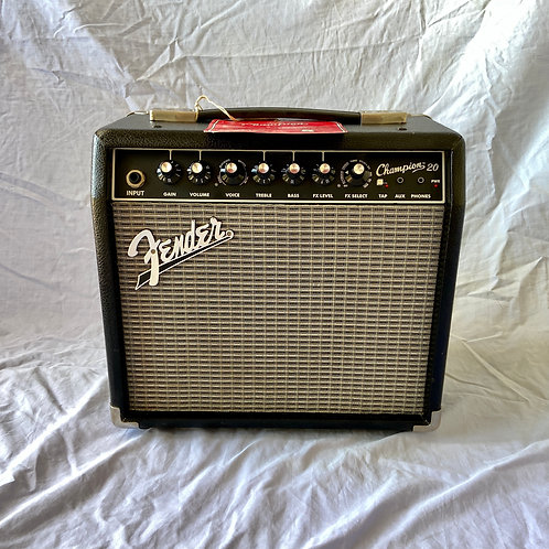 Fender Champion 20 Guitar Combo Amplifier 20W (EXC) - SOLD