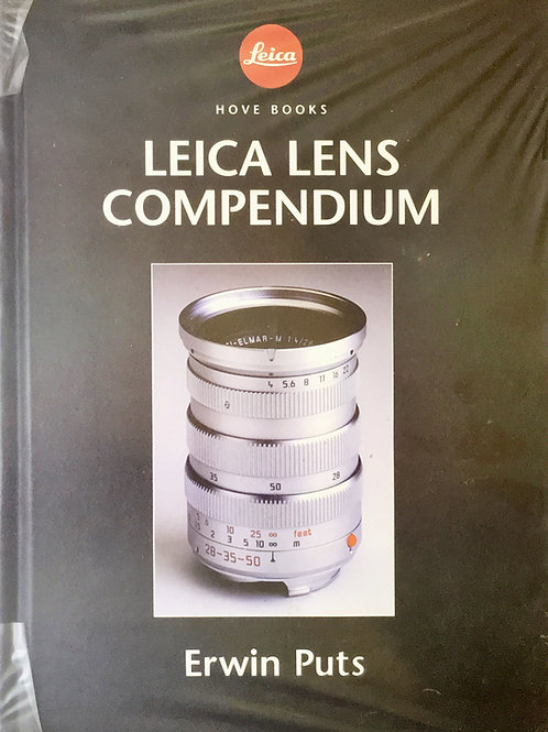 Leica Lens Compendium Book By Erwin Putts - SOLD