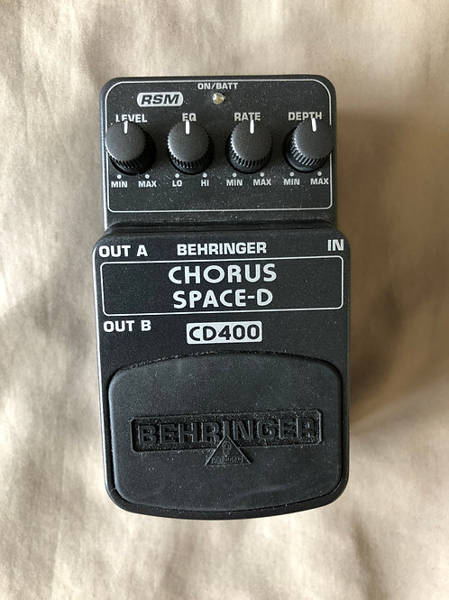 Behringer Chorus Space - D CD400 (G) - SOLD