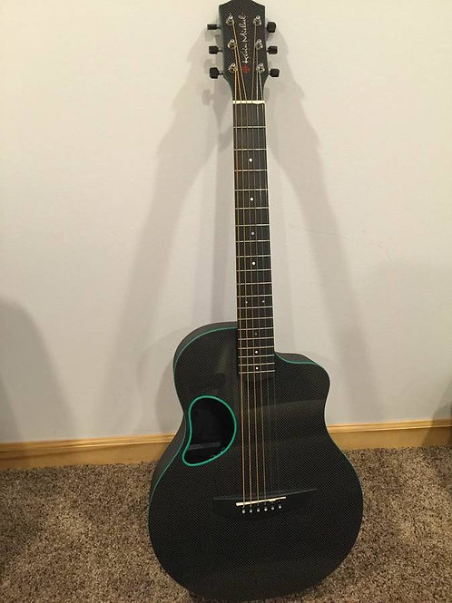 McPherson Kevin Michael Blue Touring Carbon Acoustic Guitar Brand New USA -SOLD