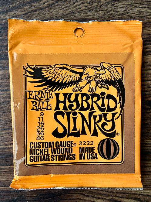 Ernie Ball EB2222 Hybrid Slinky Nickel Wound Electric Guitar Strings - SOLD
