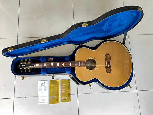 2010 Gibson SJ-200 Studio Gold Top Acoustic-Electric Guitar USA (M) - SOLD