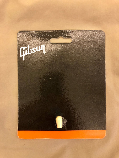 Gibson USA Toggle Switch Cap - White PRTK-020 (New) - SOLD