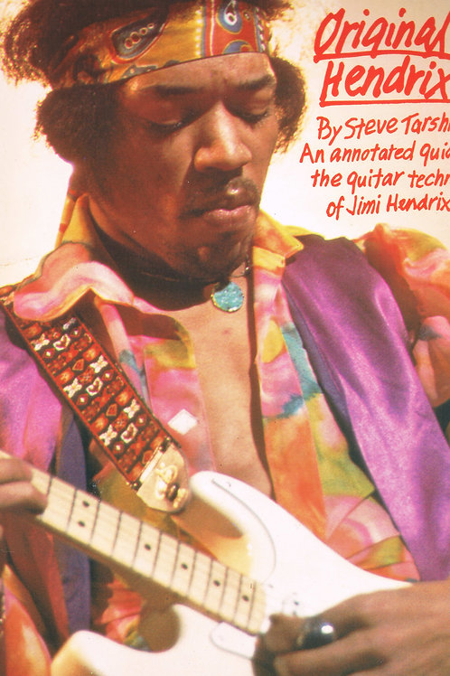 Original Hendrix By Steve Tarshis - SOLD