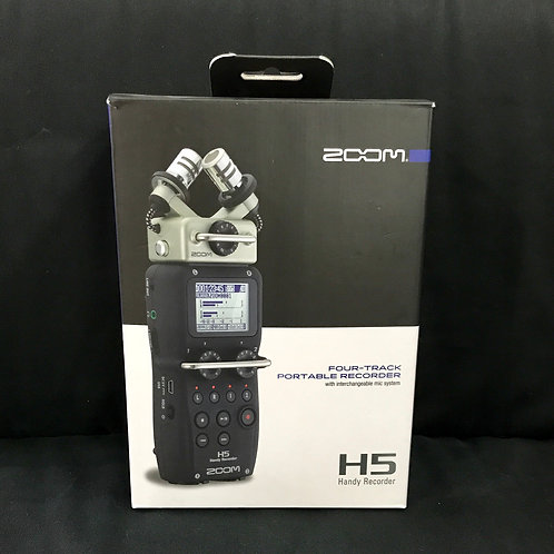 Zoom H5 Four Track Portable Recorder (New)