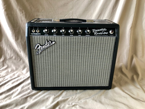 "Fender '65 Princeton Reverb 15-watt 1x10"" Tube Combo Amp (M) - SOLD"