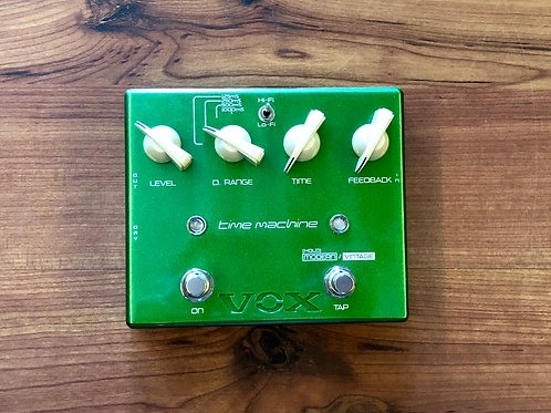 Vox Joe Satriani Time Machine Delay Guitar Effects Pedal JAPAN (M) - SOLD