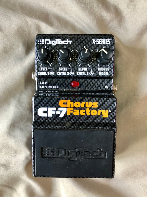 DigiTech CF-7 Chorus Factory USA (VG) - SOLD
