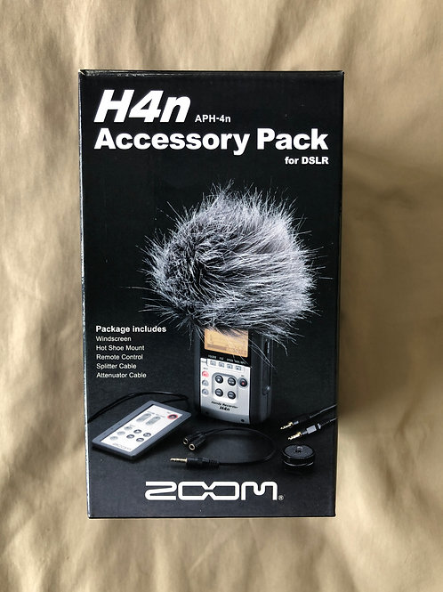 Zoom H4N Accessory Pack For DSLR (APH-4N) (New)