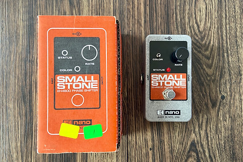 Electro Harmonix EH4800 Nano Small Stone Phase Shifter Guitar Effects (SOLD)