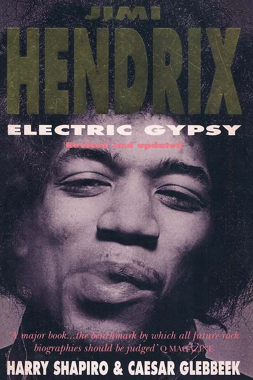 Jimi Hendrix Electric Gypsy by Harry Shapiro & Caesar Glebbeek