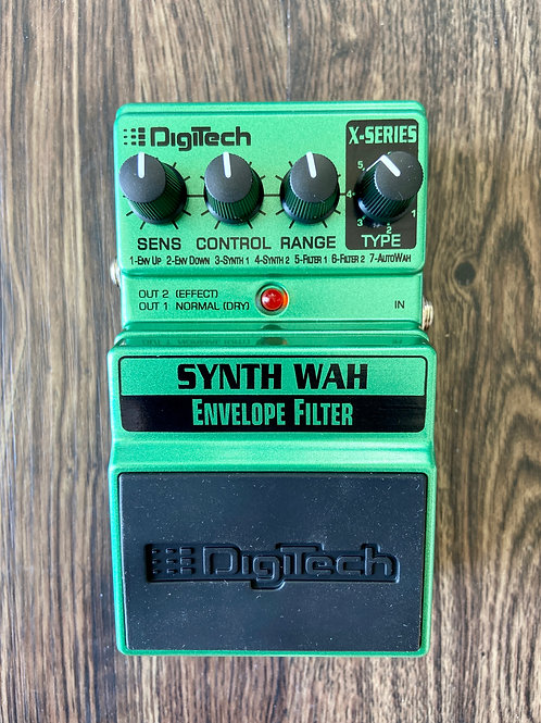 DigiTech Synth Wah Envelope Filter Pedal c/w original box, etc. (New) - SOLD