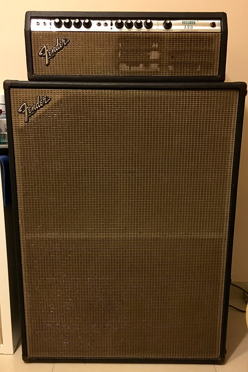 1979 Fender Bassman 135 Head & Cabinet USA (VG) - SOLD