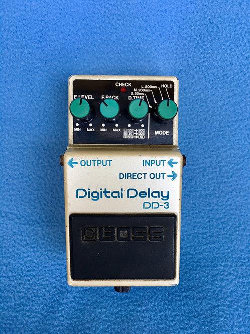 BOSS Digital Delay DD-3 (MIT) Nov 1993 (VG) - SOLD