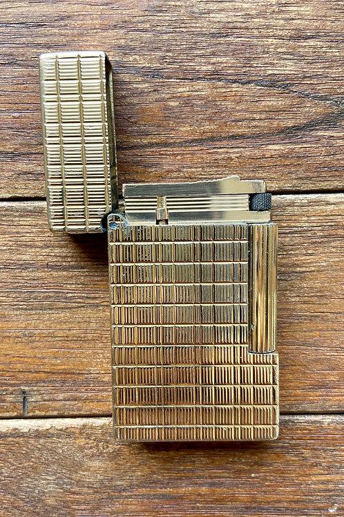 Vintage ST Dupont France Gold Lighter (G)