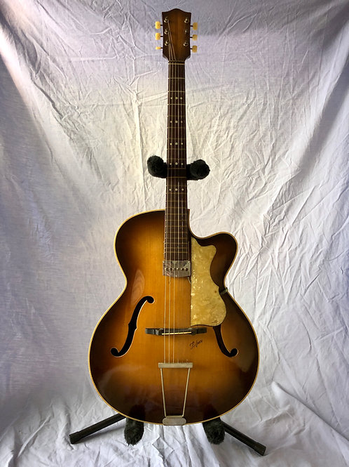 Circa 1957 / Late Fifties Hofner Model 450 Archtop Sunburst GERMANY (EXC)