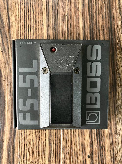 Boss FS-5L Latching Foot Switch (VG) - SOLD